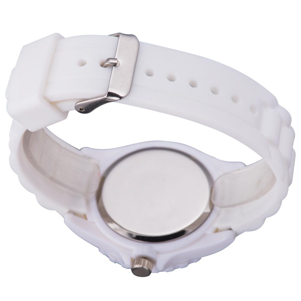 Children Quartz Watch Luminous Pointer Date Magnifier Display Silicone Strap Wristwatch 2
