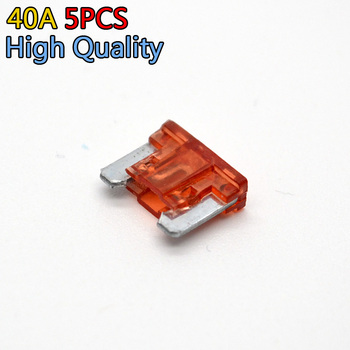 5Pcs/lot 40Amp Auto Car Boat Assortment Vehicle Truck Motorcycle Mini Blade Fuse image