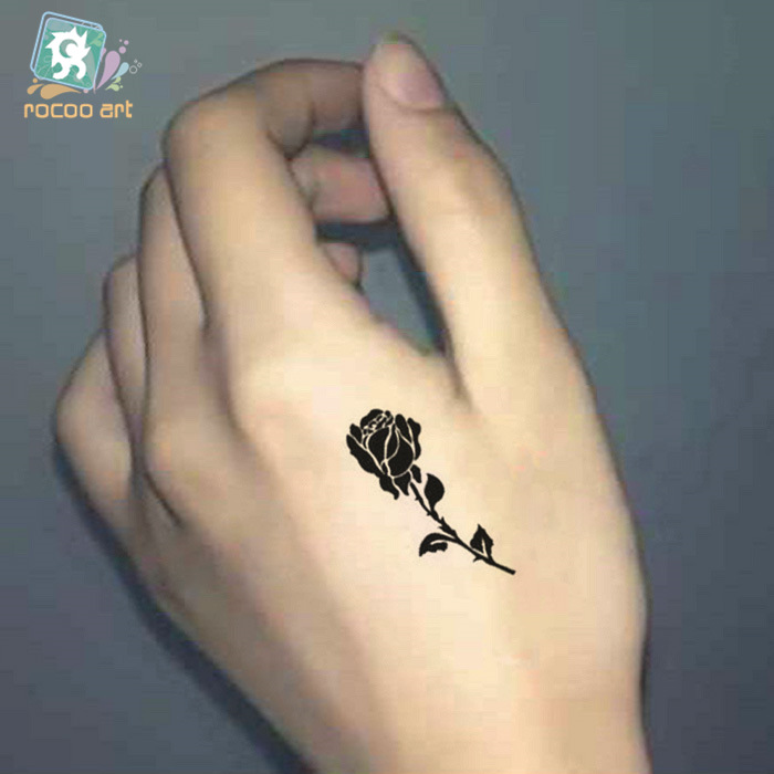 5 Pcs New Time Limited Temporary Tattoo The Male And Female Tiger