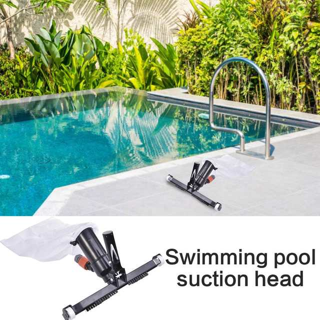 Swimming Pool Cleaning Supplies Reusable Suction Tip Vacuum Cleaner  Swimming Pool Brush Cleaner Cleaning tools