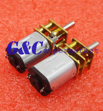 DC 12V 1000RPM Micro Speed Reduction Gear Motor with Metal Gearbox Wheel Shaft hot sale mini metal gear motor low speed motor robot motor with metal gear box n20 dc motor of miniature