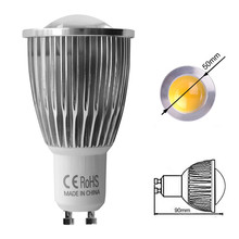 5X 220V 110V Best Quality LED Bulb COB GU10 3W 5W 7W GU 10 Lamp Dimmable Warm White Spot Light Energy Saving Bulbs CE RoHS