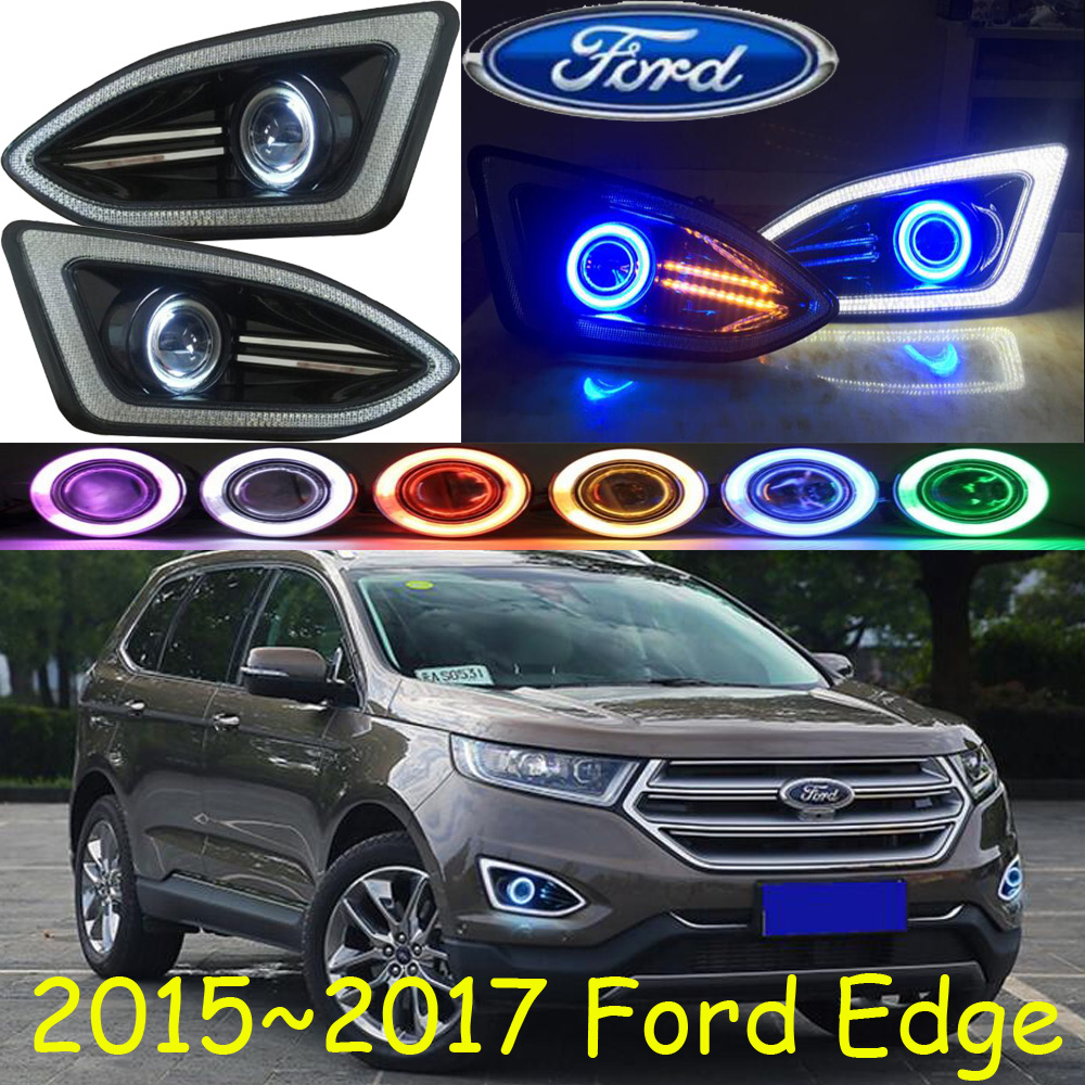 Здесь можно купить   Edge fog light LED,2015~2017;Free ship!Edge daytime light,2ps/set+wire ON/OFF:Halogen/HID XENON+Ballast,Edge Автомобили и Мотоциклы