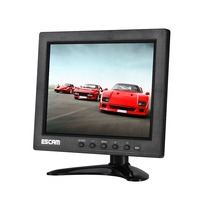 10 Inch 4 Split TFT LCD Monitor VGA HDMI AV BNC USB Input For CCTV Camera ESCAM T10