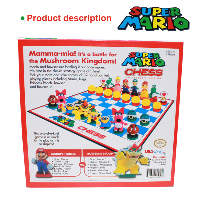 Us 53 49 49 Off Bstfamly Supermario Series Chess Set Game Portable Game Of International Chess Plastic Chessboard And Chess Pieces La45 In