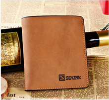 Hot selling in Europe and the United States in 2015 the man's wallet short South Korea leather wallet is free shipping