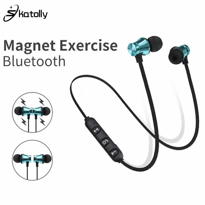 XT-11 Bluetooth Earphone Sport Wireless earphone Bluetooth Headset Handsfree Earbuds with Mic for huawei Xiaomi Samsung iPhone
