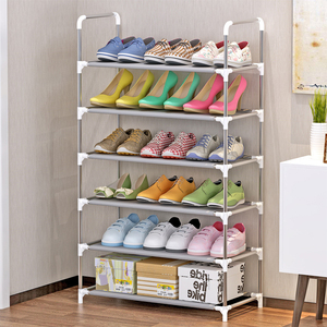 Image 2 - Sapato rack armário de armazenamento suporte sapato organizador prateleira para sapatos móveis para casa meuble chaussure zapatero mueble schoenenrek meble