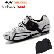 TIEBAO Cycling Shoes 2018 Men Road Bike Shoes Athletics Self-Locking Pro Bicycle Shoes Sneakers zapatillas deportivas hombre