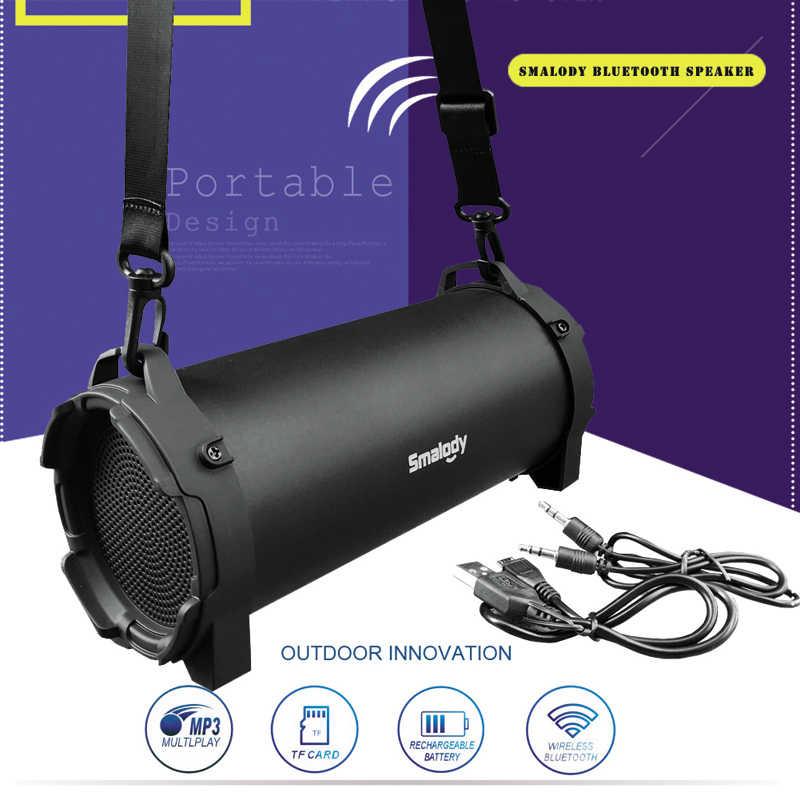 Portable Speaker HiFi Nirkabel Bluetooth Speaker Soundbar Subwoofer Loudspeaker FM Radio MP3 Musik Player BOOMBOX untuk Komputer