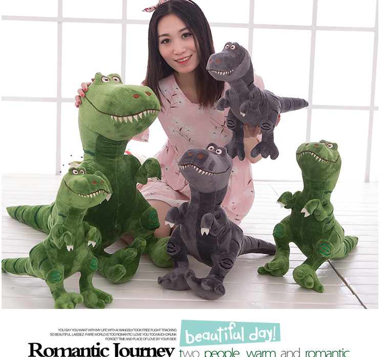 new arrival creative cartoon dinosaur plush toy soft throw pillow,surprised birthday gift h2989 new arrival huge 95cm gray elephant doll soft plush toy throw pillow home decoration birthday gift h2949