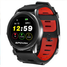 2019 HOT SW002 Watch Heart Rate Smart Round Color Screen Bluetooth Intelligent Outdoor Sports