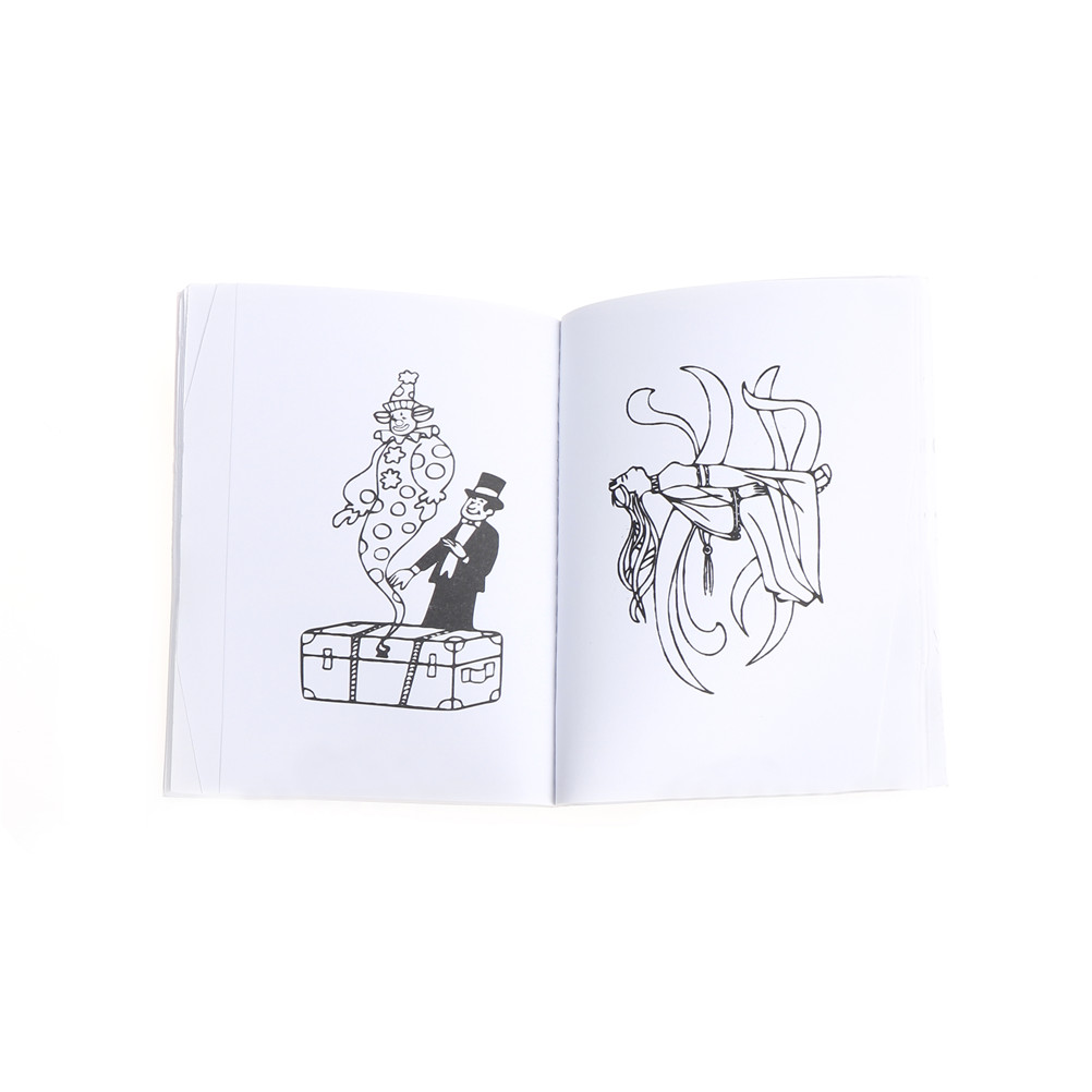 Un divertido libro mágico para colorear comedia libros para colorear ...
