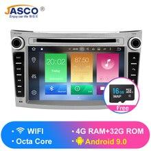 4GB RAM Android 9.0 Car Stereo DVD Player GPS Glonass Navigation for Subaru Legacy Outback 2008+Video Multimedia Radio  headunit цена