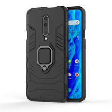 For Oneplus 7 Pro Case Armor Ring Luxury Shockproof TPU+PC Full Back Cover For Oneplus 6T Cover Magnetic Case Car Holder 1+7 Pro