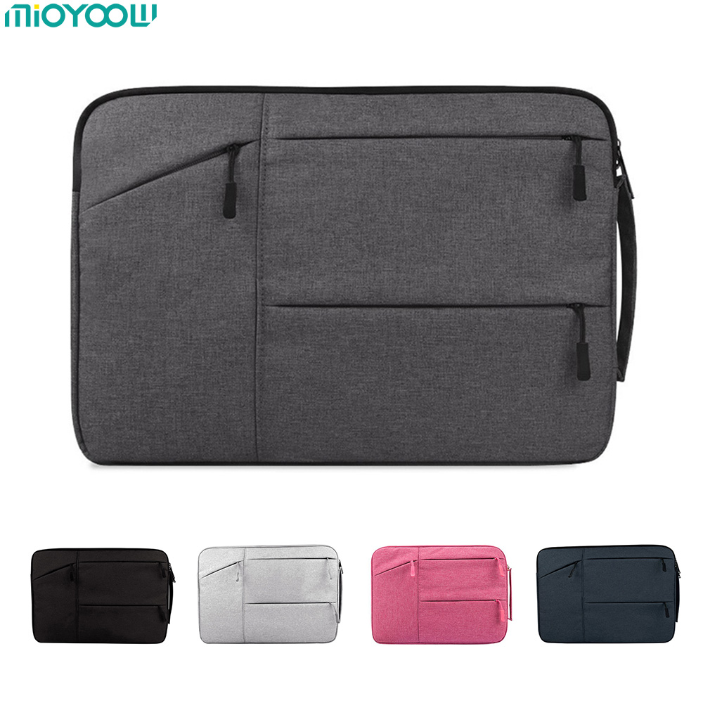 Laptop Bag For Macbook Air Pro Retina 11 12 13 14 15 15.6 inch Laptop Sleeve Case PC Tablet Case Cover for Xiaomi Air HP Dell sleeve bag for lenovo air 12 2 inch tablet laptop pouch case handbag protective skin cover for lenovo air 13 air pro 13 3 gift