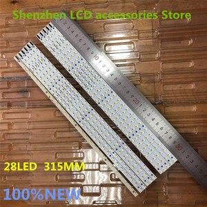 Image 5 - 10 unids/lote 100% nuevo Original skyworth 50E6CRD artículo lámpara V500HK1 LS5 V500H1 LS5 TREM4 TLEM4 1 Uds = 28LED 315MM