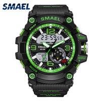 Fashion Saat SMAEL Brand Mens Watches Top Brand Luxury Naviforce Analog Quartz 3 Bars Watchproof Wristwatch