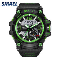 Fashion Saat SMAEL Brand Mens Watches Top Brand Luxury Naviforce Analog Quartz 3 Bars Watchproof Wristwatch