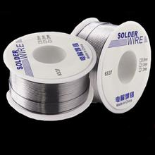 0.8/1MM 63/37 FLUX 2.0% Tin Lead Tin Wire Melt Rosin Core Solder Soldering Wire Roll Electrolytic Solder Wire