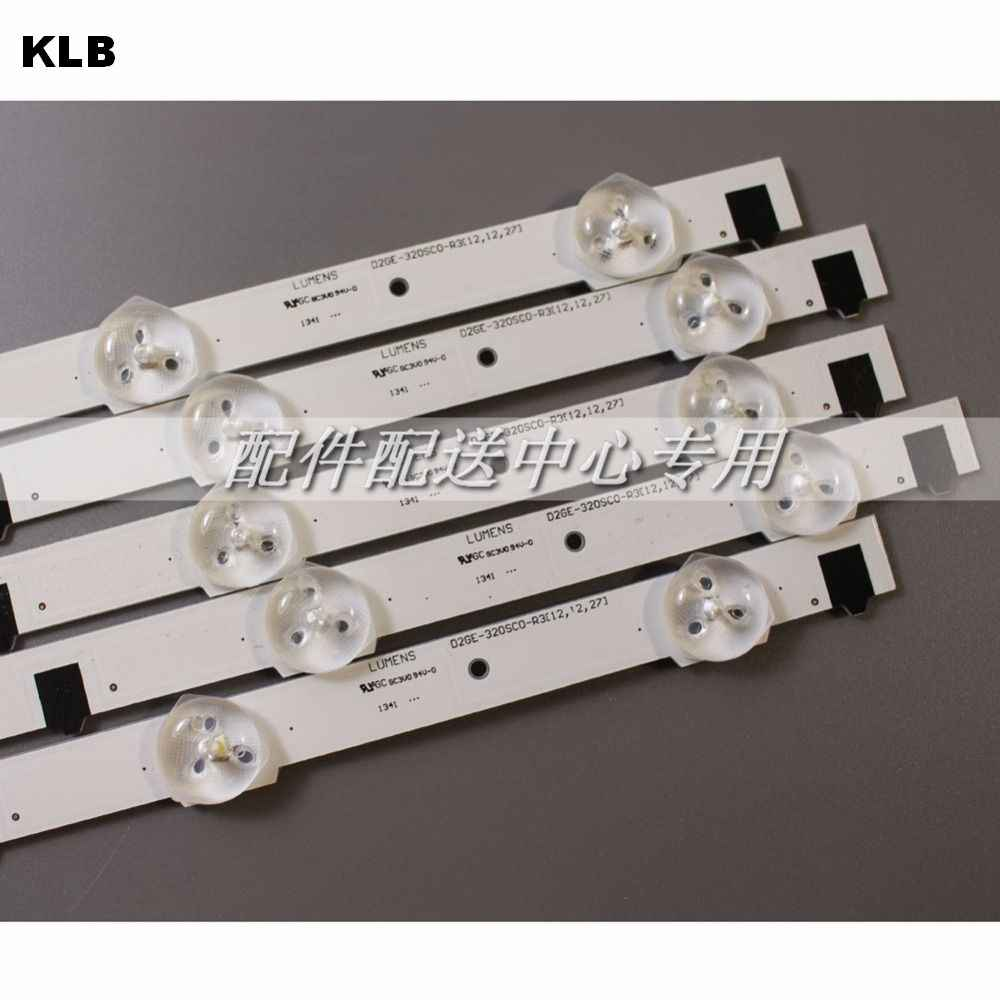 5 pcs x 32 inch LED Backlight Lamp Strip voor SamSung 32 ''TV UA32F4088AR 2013SVS32H D2GE-320SC0 9-leds 650mm