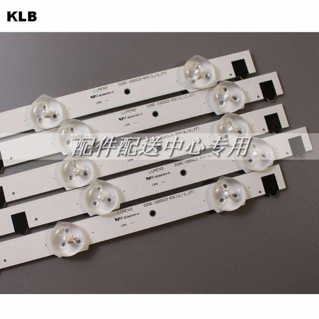 5pcs x 32 inch LED Backlight Lamp Strip for SamSung 32 TV UA32F4088AR 2013SVS32H D2GE 320SC0 9 leds 650mm