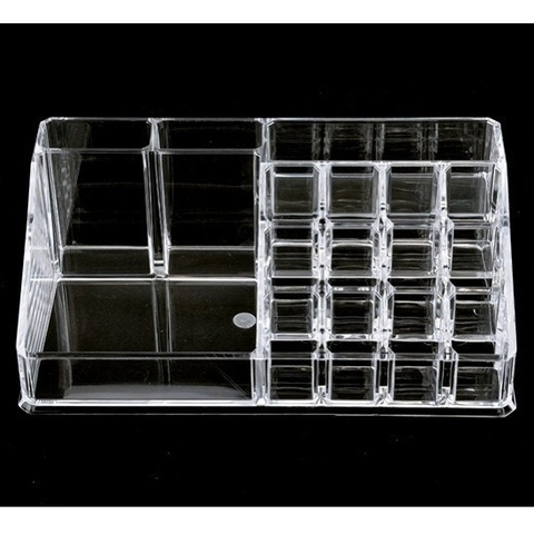 Clear Makeup Case 4 Drawer 16 grid Cosmetic Organizer Jewelry Storage Acrylic Box Karachi