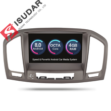 Isudar Car Multimedia Player 2 Din Car Radio GPS Android 8.0 7 Inch For Opel/Vauxhall/Insignia CD300 CD400 2009-2012 Wifi OBD2