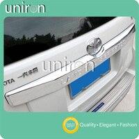 Uniron Exterior Accessories Rear Tailgate Trunk Lid Trim Cover ABS Chrome Decoration for TOYOTA Prado Land Cruiser FJ150 FJ 150