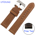 For Samsung Gear S3 Classic/Forntier Smart Wristband 22mm Genuine Leather Watch bands Replacement Leather Strap