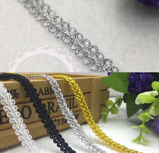 Goldene Häkeln spitzenband für Nähen Hochzeits Bogen Venedig Spitze ...