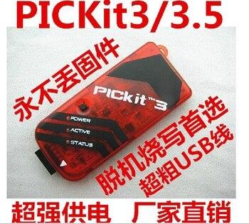 Envío Gratis PICKIT3 PICKIT 3 programador programación Offline simulación microcontrolador PIC Chip monopolio foto simulador