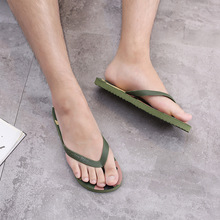 2019 new rubber slippers men and women summer sandals wear non-slip camouflage