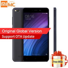 Global Version Originale Xiaomi Redmi 4A Mobile Téléphone 2 GB RAM 16 GB ROM Snapdragon 425 Quad Core 5.0 Pouce 13.0MP Caméra 4G FDD LTE