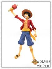 Megahouse POP Exellent Model Sailing Again Japanese Anime One Piece Action figurine P.O.P Monkey D Luffy PVC Action Figure