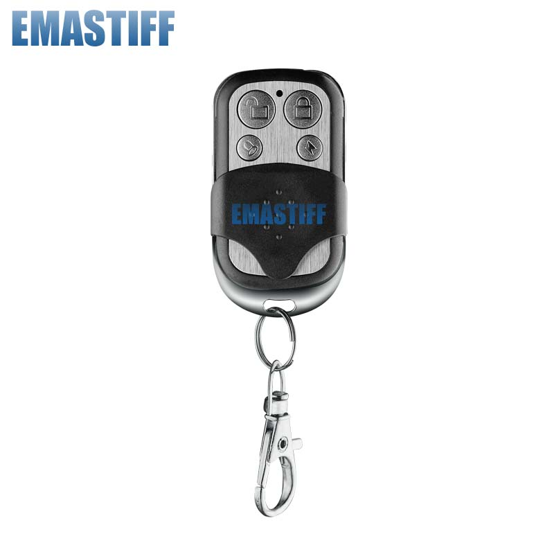 Wireless Waterproof Metal Remote Control Controller Keyfobs Keychain 433MHz Just For Our G2B O2B Security GSM Alarm System