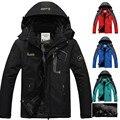 Hot Brand hombres chaqueta de invierno, Además de terciopelo cálido viento parka con capucha abrigo de invierno los hombres XD016