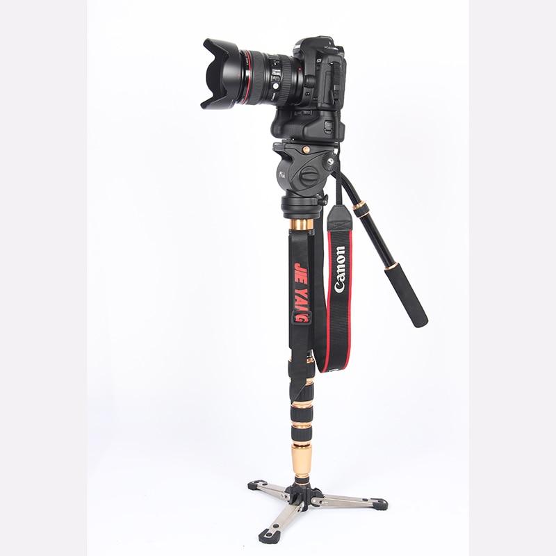 PROGO JY0506 Kohlefaser Professionelle Einbeinstativ für Video & - Kamera und Foto