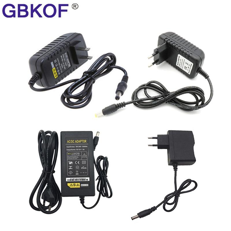 Трансформаторы для освещения, 100-240 В переменного тока в 12 В постоянного тока, 1 А, 2 А, 3 А, 4 а, 5 А, 6 А, 8 А, адаптер питания, конвертер, зарядное уст...