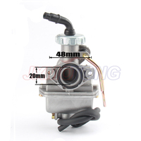 Motorcycle Carburetor Carb For 50cc 70cc 90cc 110cc 125cc 135 For Kazuma ATV Quad Go kart SUNL For TAOTAO PZ20