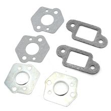 2 Set Carburetor Muffler Metal Gasket Kit For STIHL 023 025 MS 230 MS 250 Chainsaw