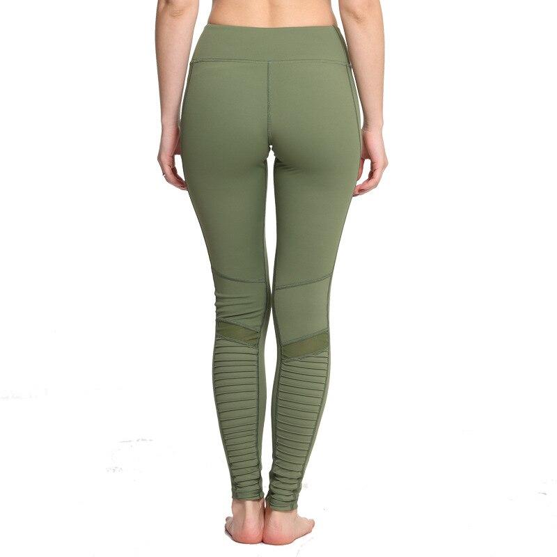 Moto Yoga Active Leggings Women's Clothing