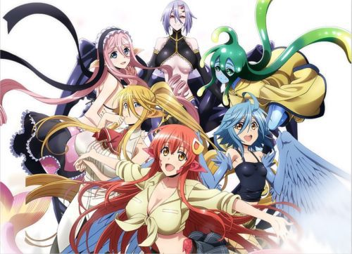 Anime Japan Monster Musume No Iru Nichijou Miia Wall Scroll Home Decor Poster In Painting Calligraphy From Garden On Aliexpress