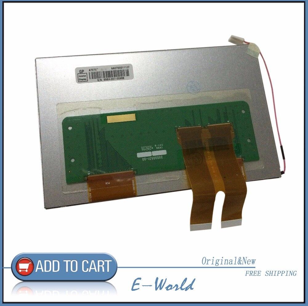 Original and New 7inch LCD screen AT070TN84 V.1 for Car DVD Navigation GPS free shipping
