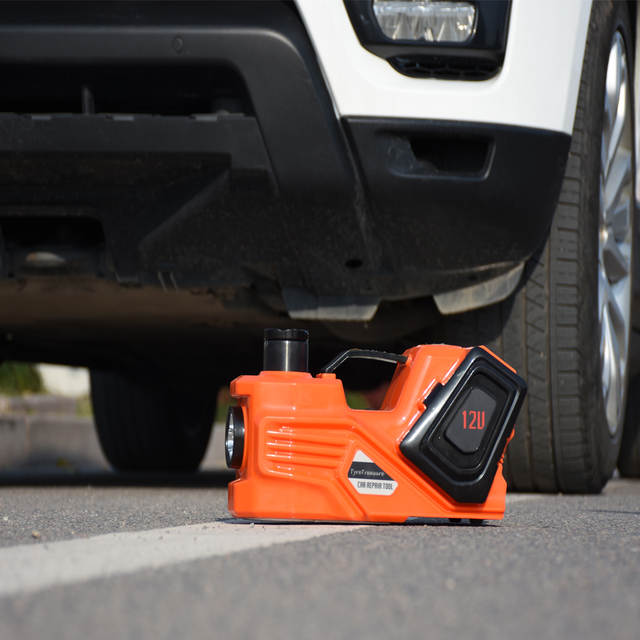 Online 12volt Tyre Change Tools Electric Jack And Impact Wrench With Inflating Pump Light Aliexpress Mobile