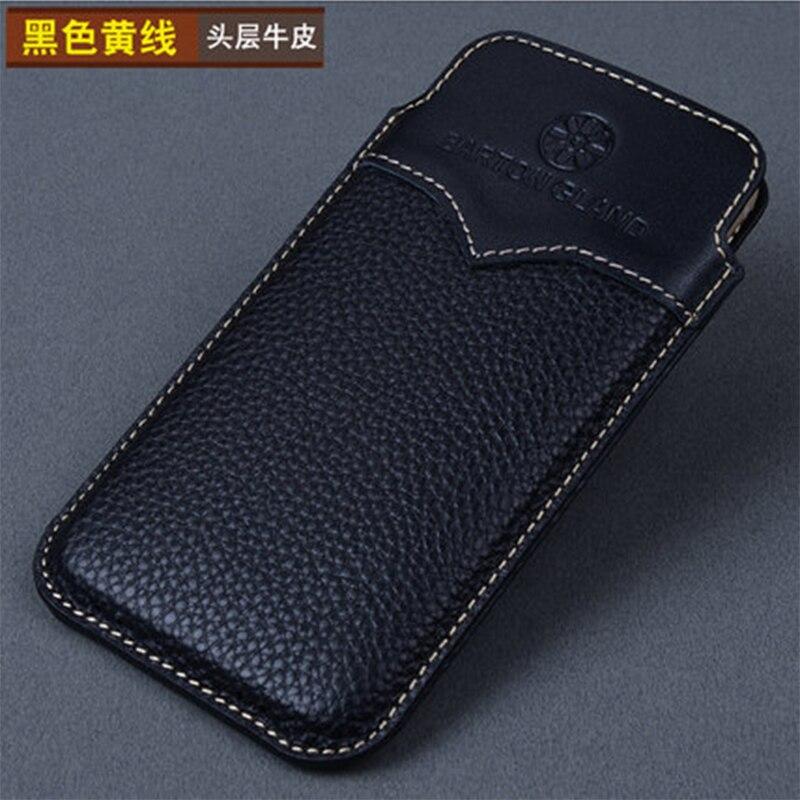 2018 coque de téléphone de mode de luxe à la main en cuir véritable pochette de téléphone pour Xiaomi Redmi Note 4x étui