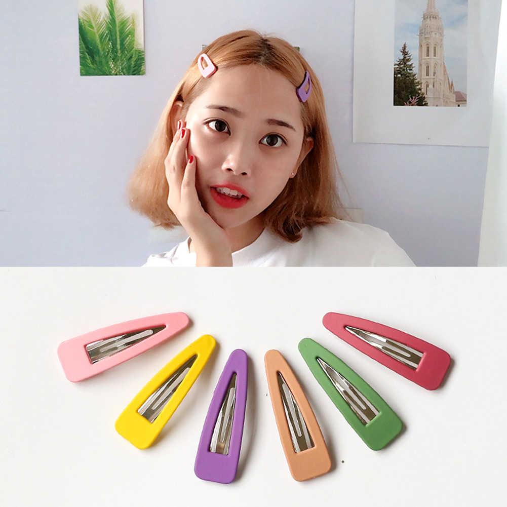 1 máy tính Dễ Thương Kẹp Tóc Màu Kẹo Kẹp Tóc cho Bé Gái Tóc Chân Độc Đáo Nữ Tặng BB Kẹp Hairclips phụ Kiện tóc