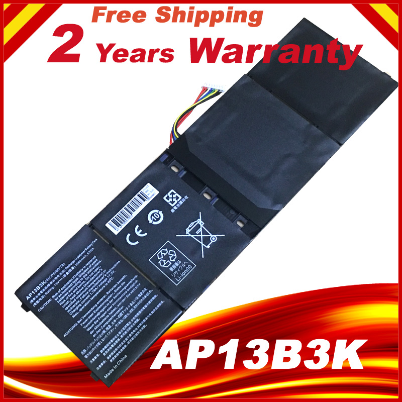 Originale batterie d'ordinateur portable AP13B3K pour Acer Aspire V5 R7 V5-572G V5-573G V5-472G V5-473G V5-552G M5-583P V5-572P R7-571 AP13B8K