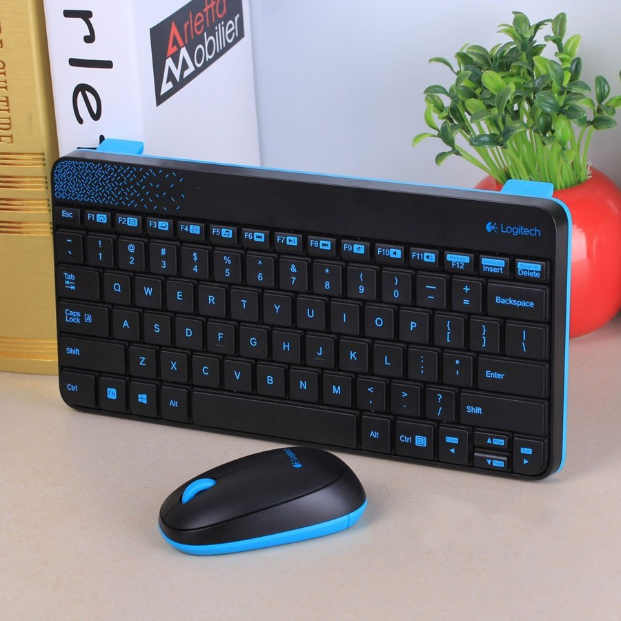 3fbcbbb3399 Original New Logitech MK240 Wireless Compact Mini Keyboard and Mouse Combo  1 Set Free Shipping-in Keyboard Mouse Combos from Computer & Office on ...