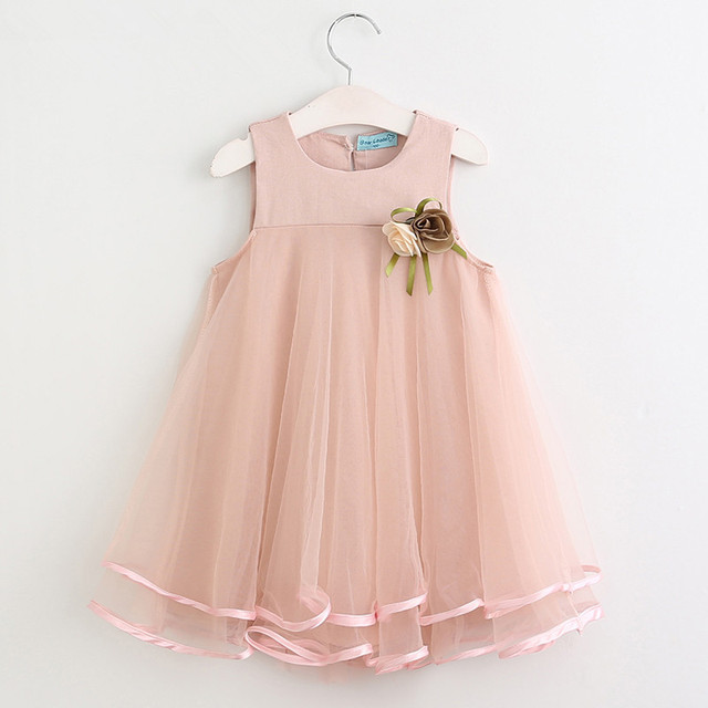 90e6824b18851 US $12.65 |Floral girls dresses 2018 brand summer lolita style clothes for  girls princess childrendresses toddler girls summer clothing-in Dresses ...